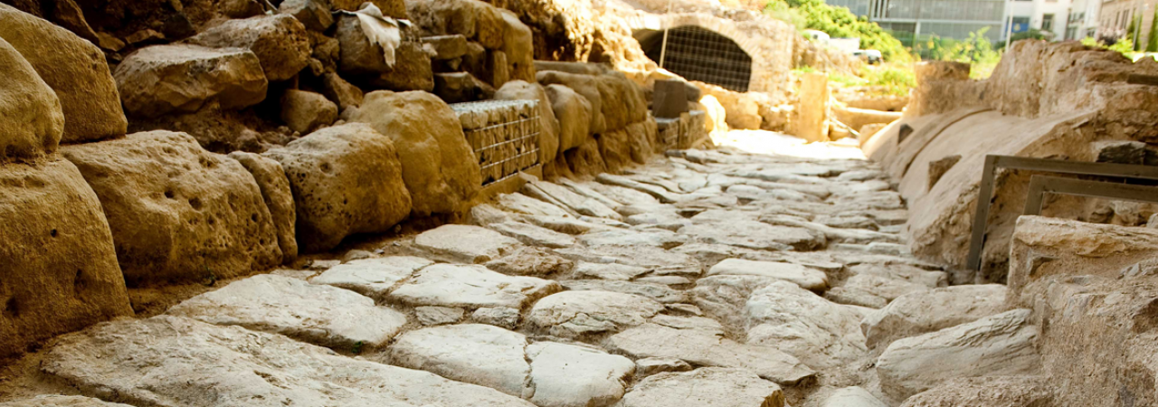 Walkways at Cartagena's Roman Forum after restoration work driven by Fund