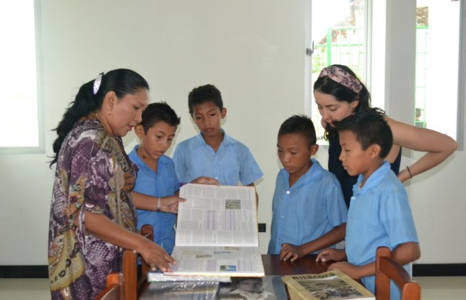The Library inauguration ceremony