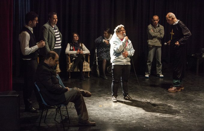 Adapted theatre workshop