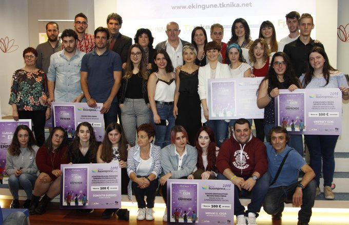 Awarded Urratsbat program 2018, a project of Deputy Ministry of Vocational Education of the Basque Government, organised by Tknika and supported by Fundación Repsol and Obra Social La Caixa.
